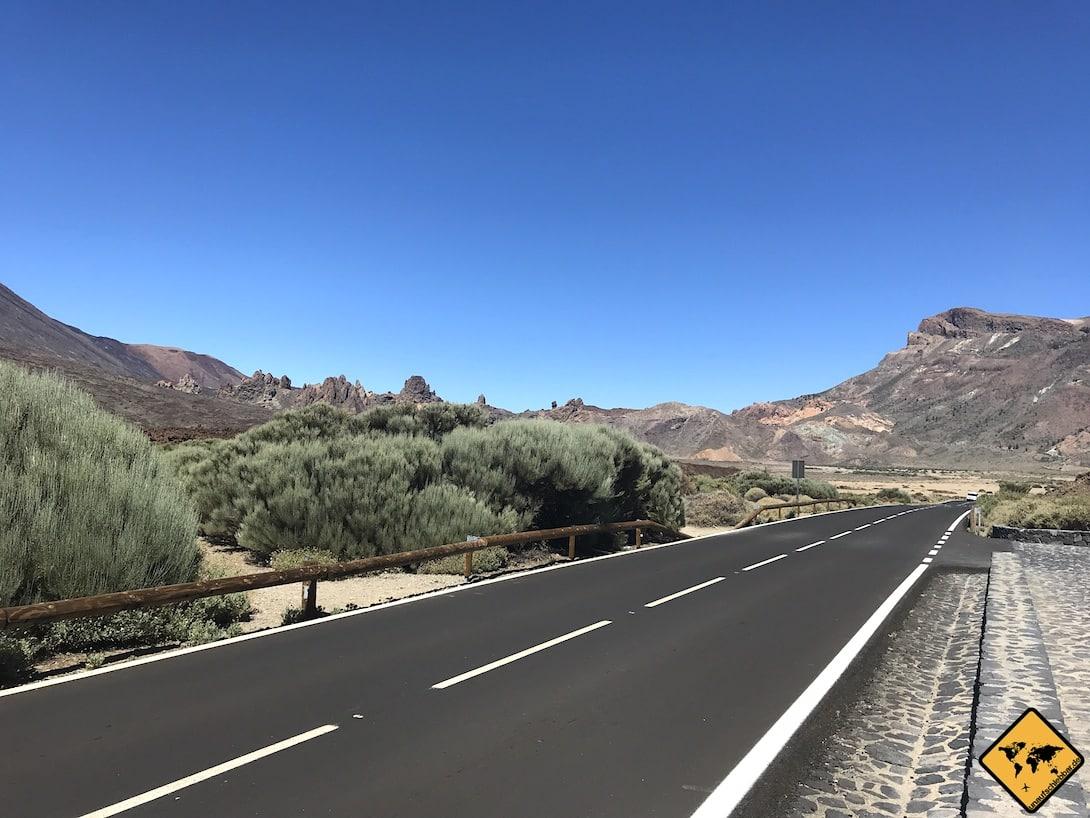 Parque Nacional del Teide Straße