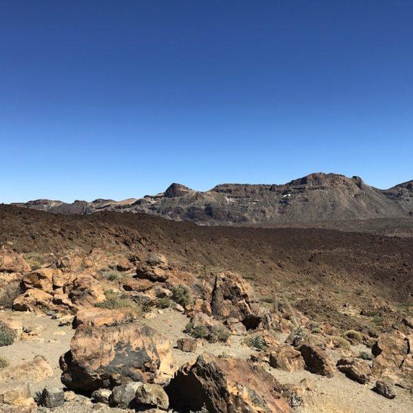 Parque Nacional del Teide Tabonal Negro