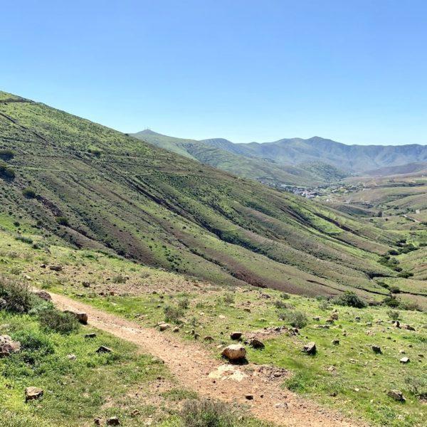 Parque Rural de Betancuria Weg Mirador de Guise y Ayose