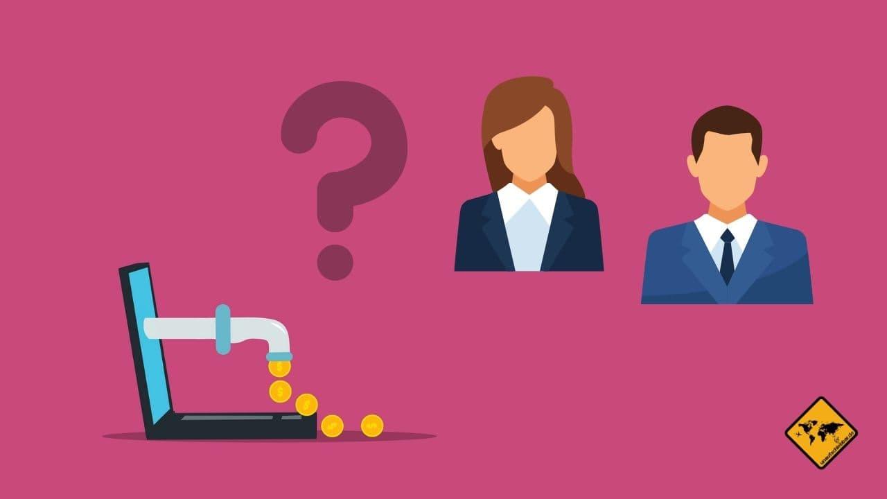 Passives Einkommen OHNE Startkapital Arbeitgeber
