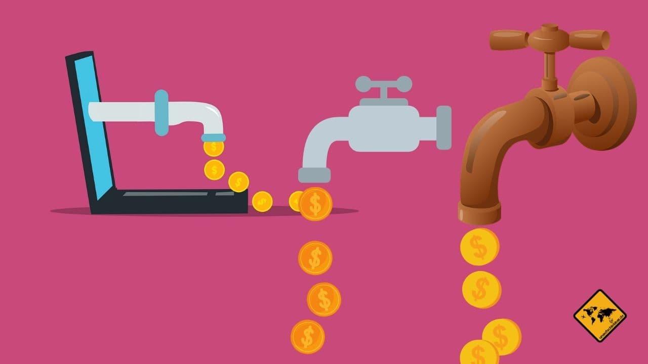 Passives Einkommen OHNE Startkapital Quellen Beispiele Informatik