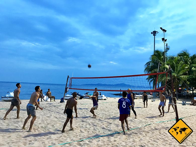 Pattaya Beach Volleyball