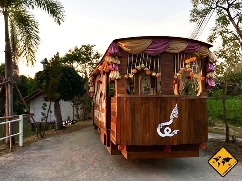 Pattaya Floating Market Trolley Car