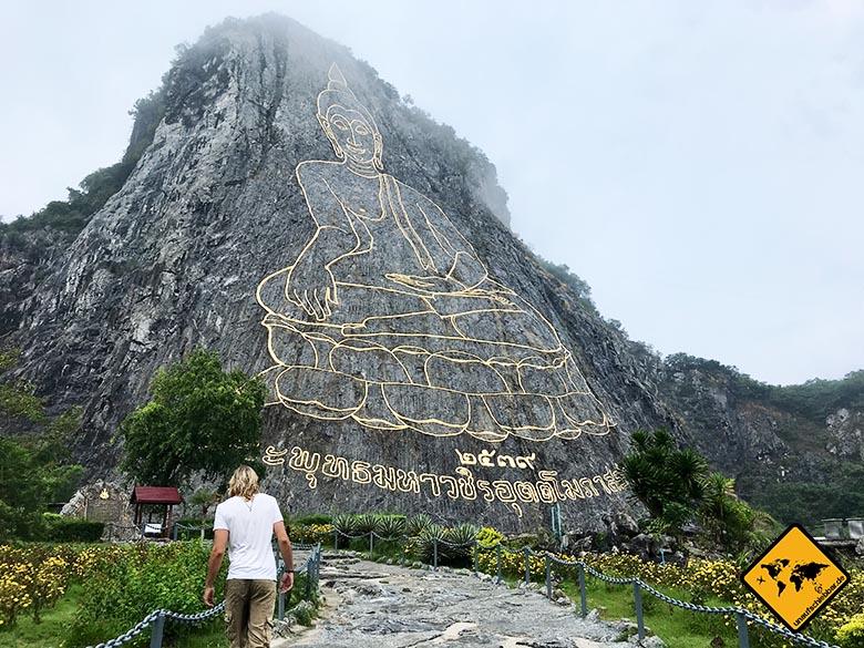 Pattaya Sehenswürdigkeiten Buddha Mountain Pattaya Thailand