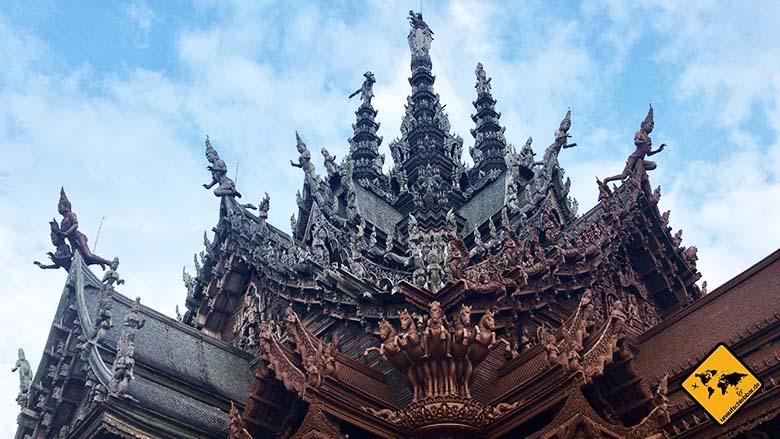 Pattaya Sehenswürdigkeiten Sanctuary of truth