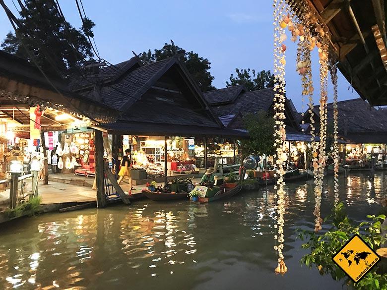 Pattaya schwimmender Markt