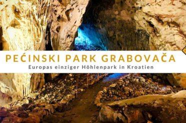 Pećinski Park Grabovača – Europas einziger Höhlenpark in Kroatien