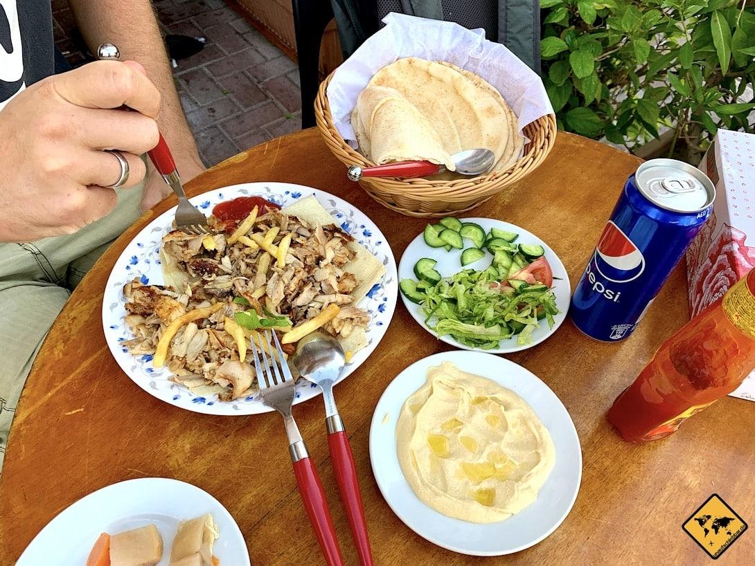 Persisches Essen altes Dubai