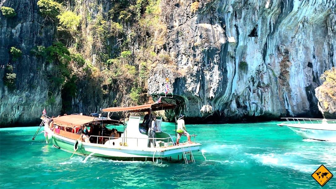 Phi Phi Inseln Tagesausflug Boot