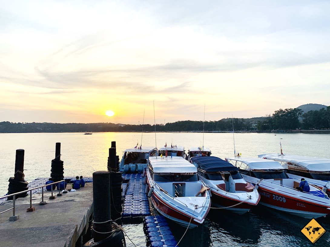 Phi Phi Islands Anreise Schnellboote