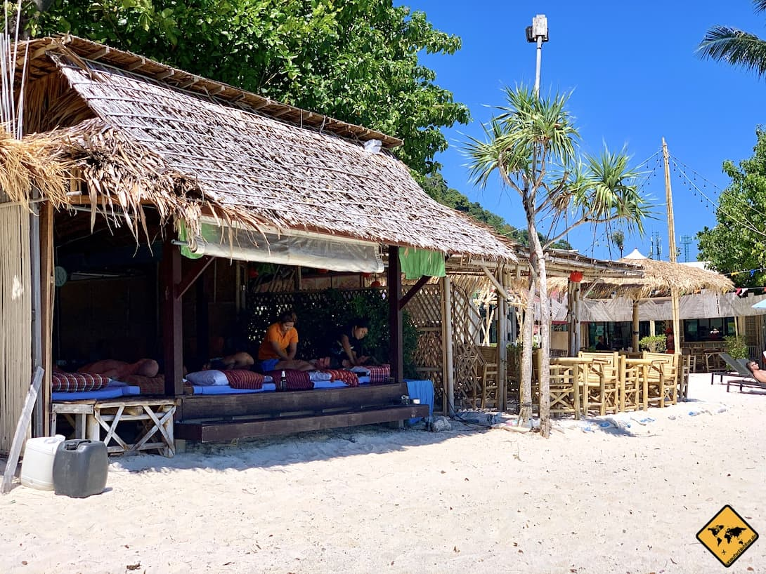 Phi Phi Islands Massage am Strand