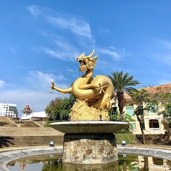 Phuket City Hai Leng Ong Statue