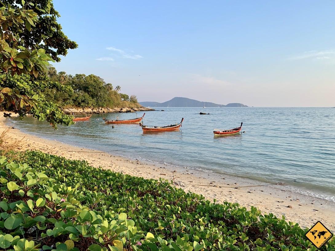 Phuket Rawai Beach Boote Strand