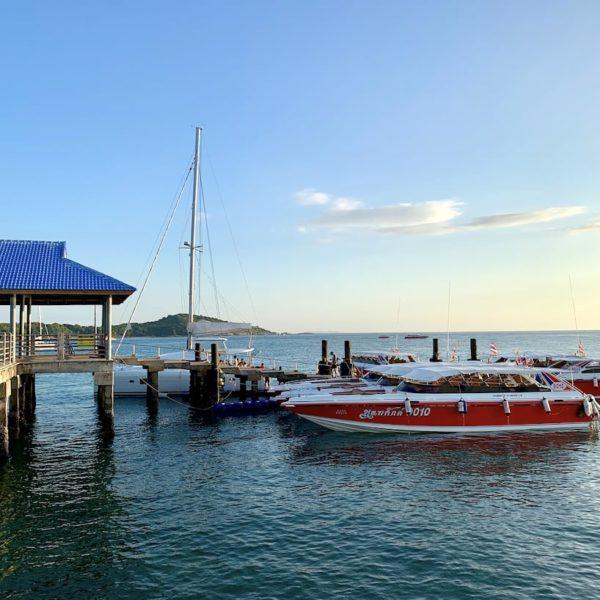 Phuket Rawai Beach Pier Boote