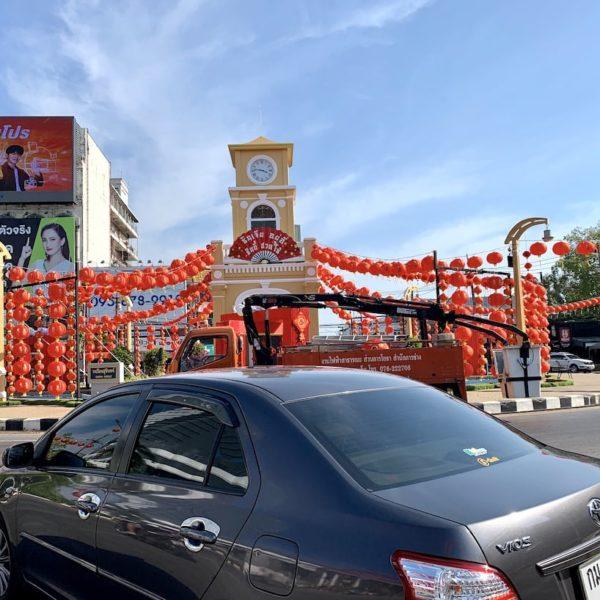 Phuket Town Surin Circle Clock Tower
