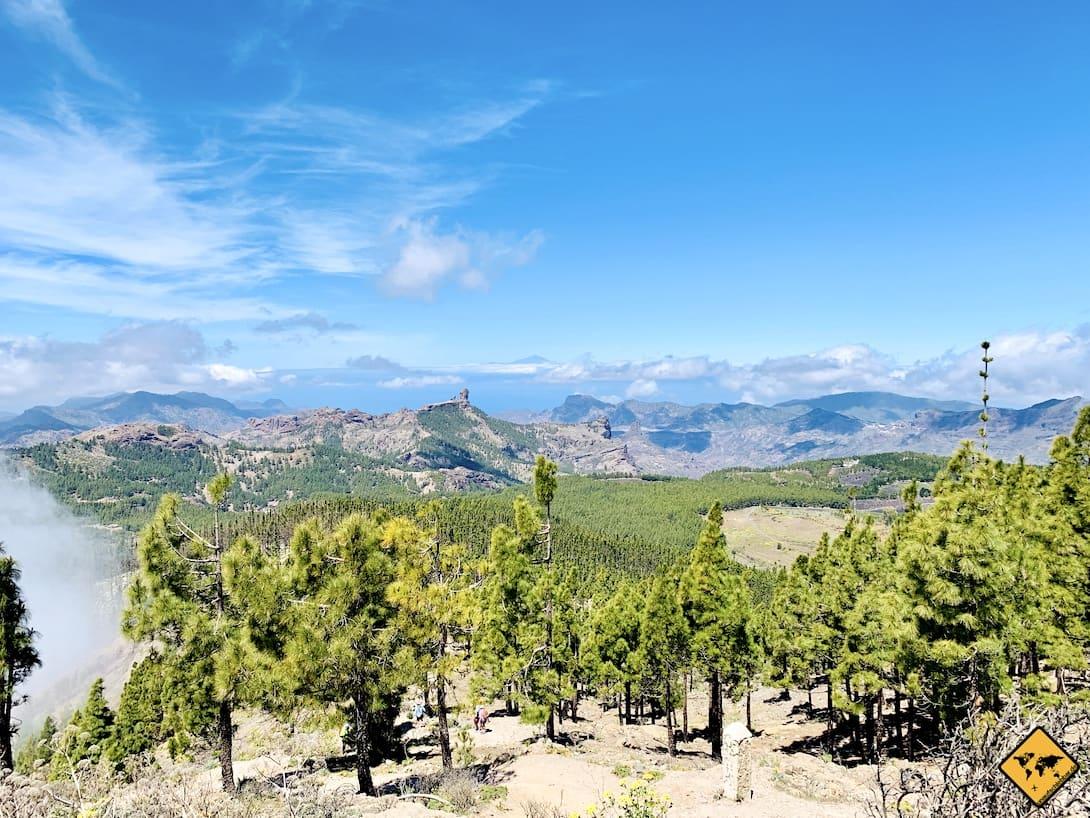 Pico de las Nieves Ausblick