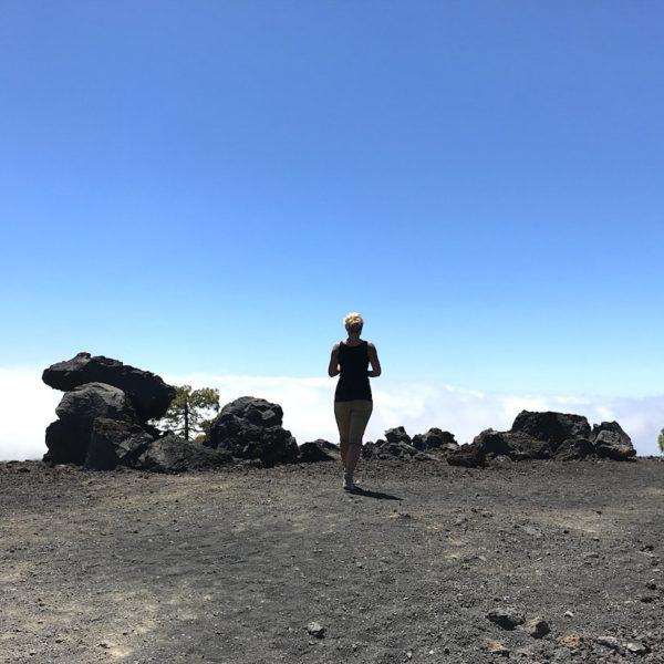 Pinar Chio Teide Nationalpark Wolken
