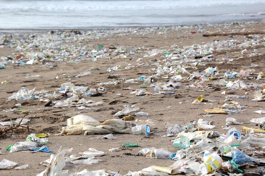 Plastik Müll Strand