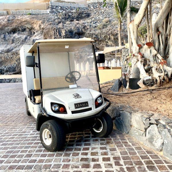 Playa Abama Golf Cart