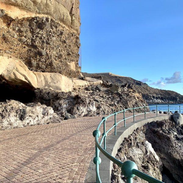 Playa Abama Teneriffa Promenade