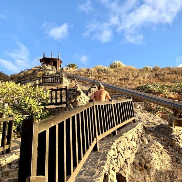 Playa Abama Treppen