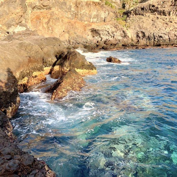 Playa Abama türkis-blaues Wasser