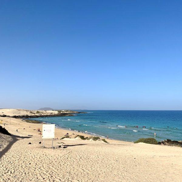 Playa Alzada Corralejo Natural Park