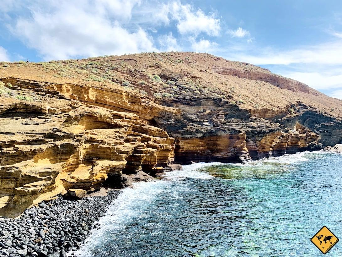 Playa Amarilla Steinstrand
