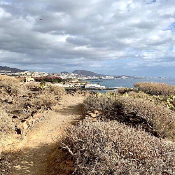 Playa De Diego Hernandez Weg zum Strand