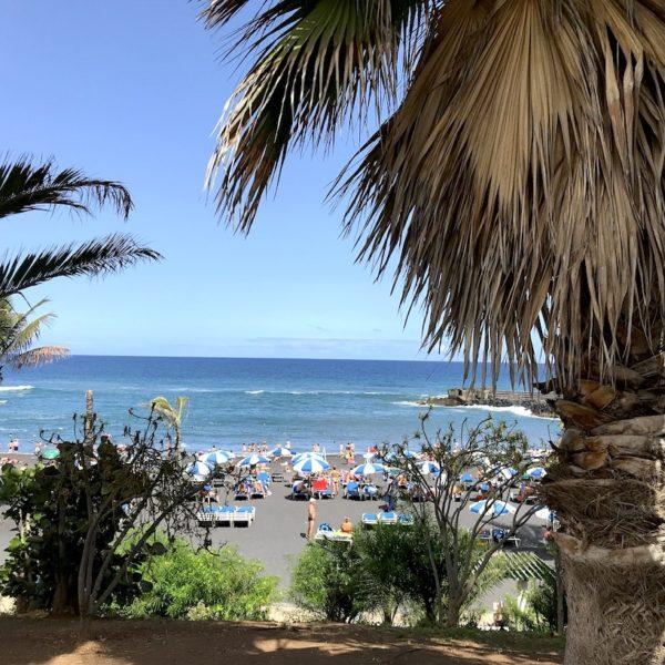 Playa Jardín Strand auf Teneriffa