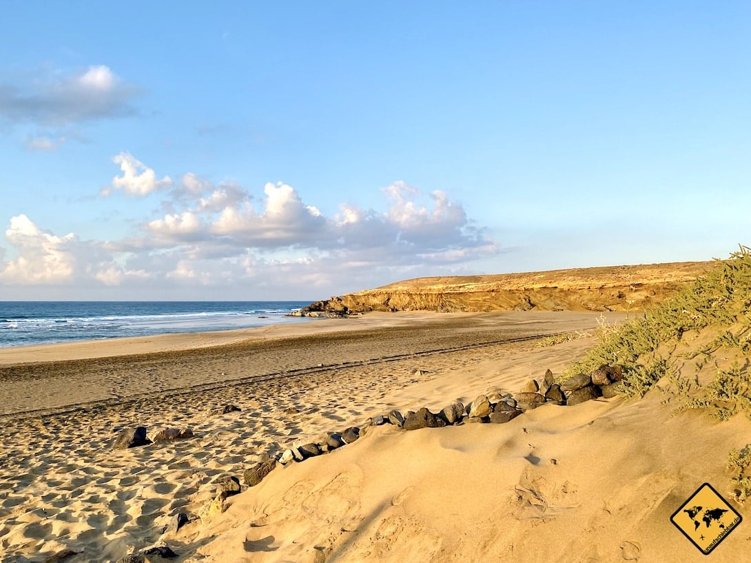 Playa Jarugo Strand auf Fuerteventura
