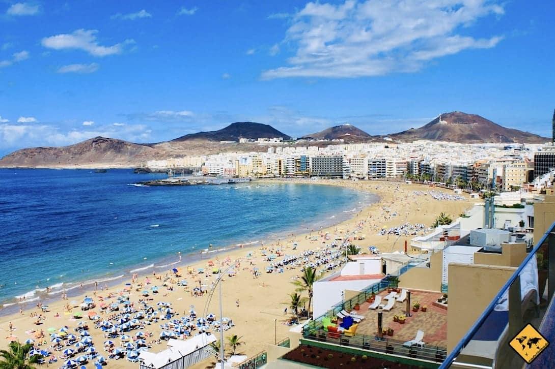 Playa Las Canteras Las Palmas de Gran Canaria