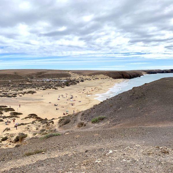 Playa Mujeres Lanzarote Papagayo Strände