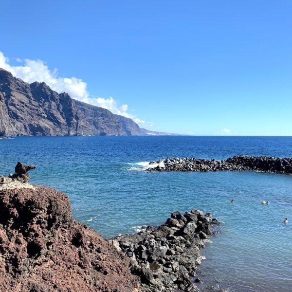 Playa Punta de Teno Strand auf Teneriffa