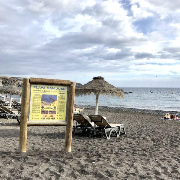Playa San Juan Liegen