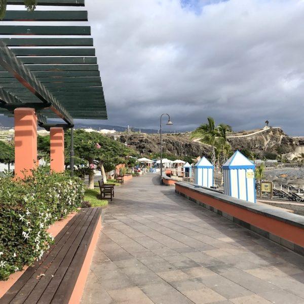 Playa San Juan Teneriffa Promenade Bank