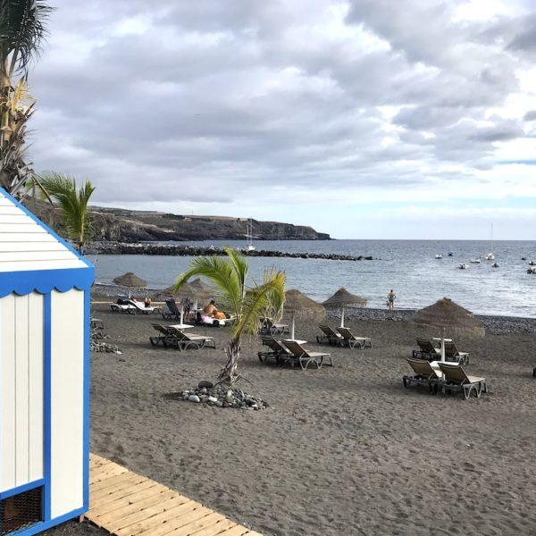 Playa San Juan Teneriffa Umkleide