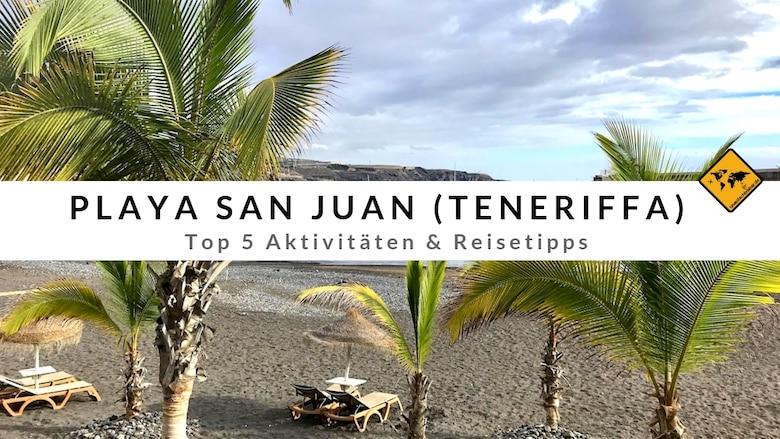Playa San Juan Teneriffa
