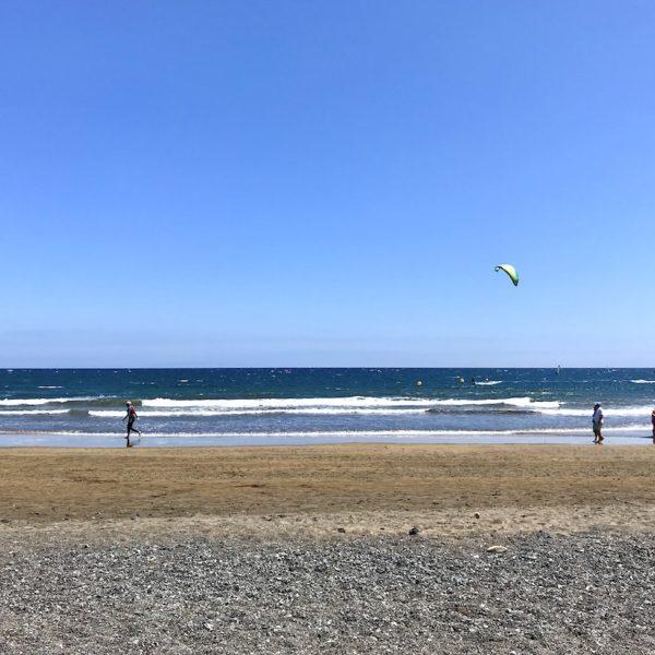 Playa Sur El Médano Teneriffa Strand