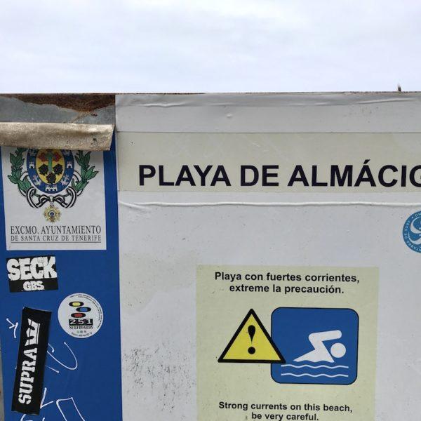 Playa de Almáciga Anaga Gebirge Teneriffa