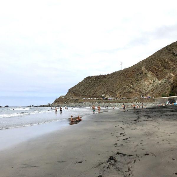 Playa de Almaciga Strände auf Teneriffa