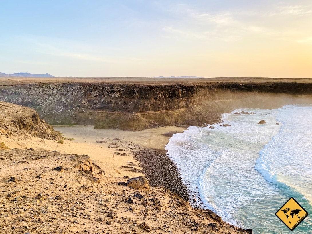 Playa de Esquinzo Nordwest Fuerteventura Strand