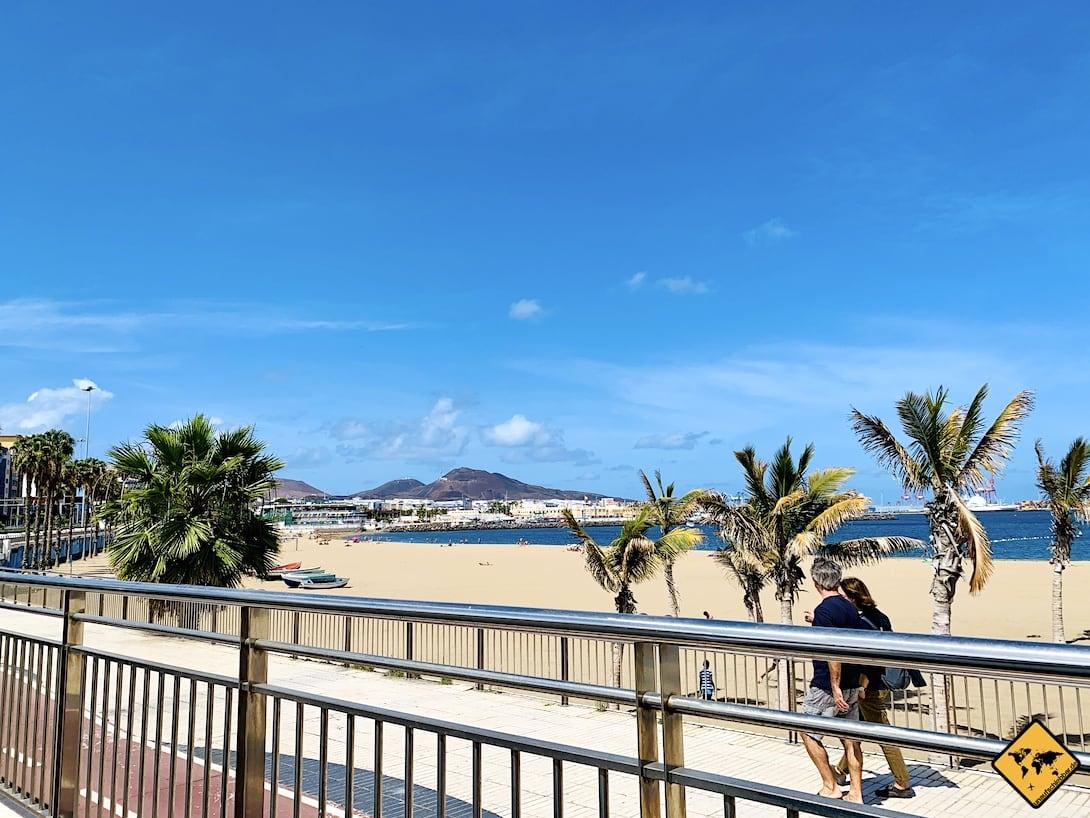 Playa de Las Alcaravaneras Las Palmas