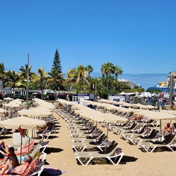 Playa de Mogán Liegestühle
