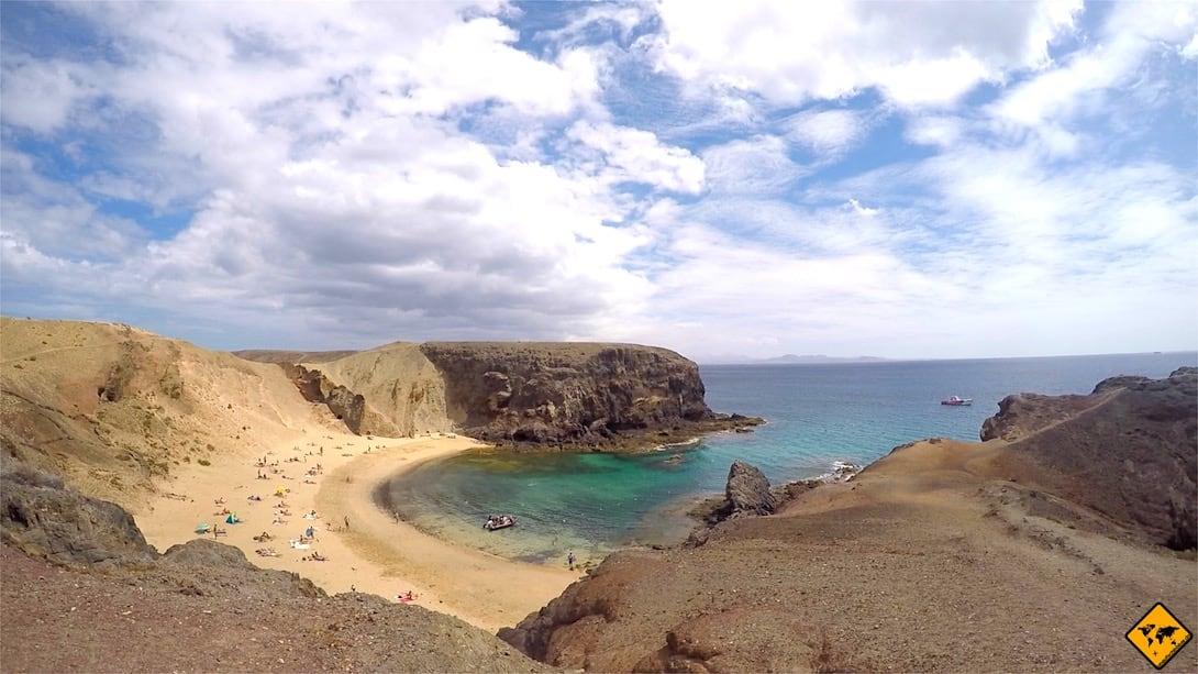 Playa de Papagayo Strand