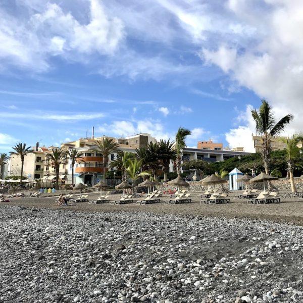 Playa de San Juan Teneriffa Kies Strand