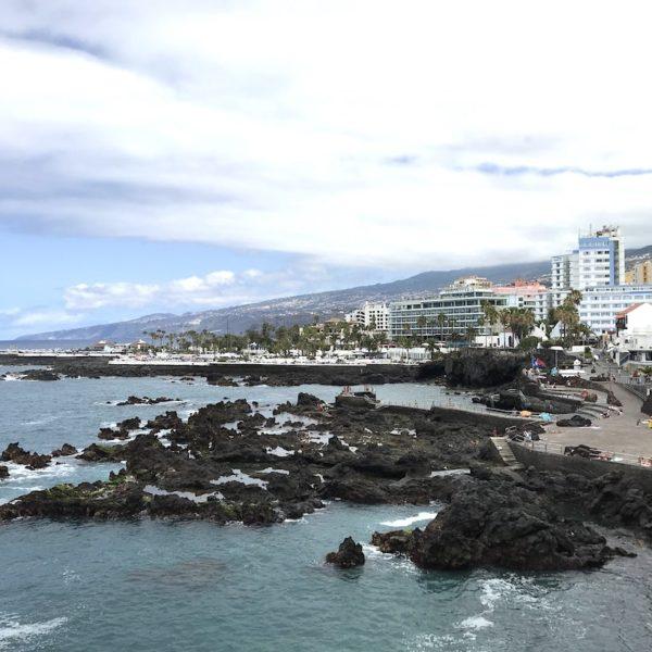 Playa de San Telmo Puerto Cruz Weitansicht