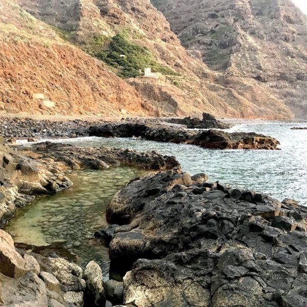Playa de la Arena Strand auf Teneriffa Natur