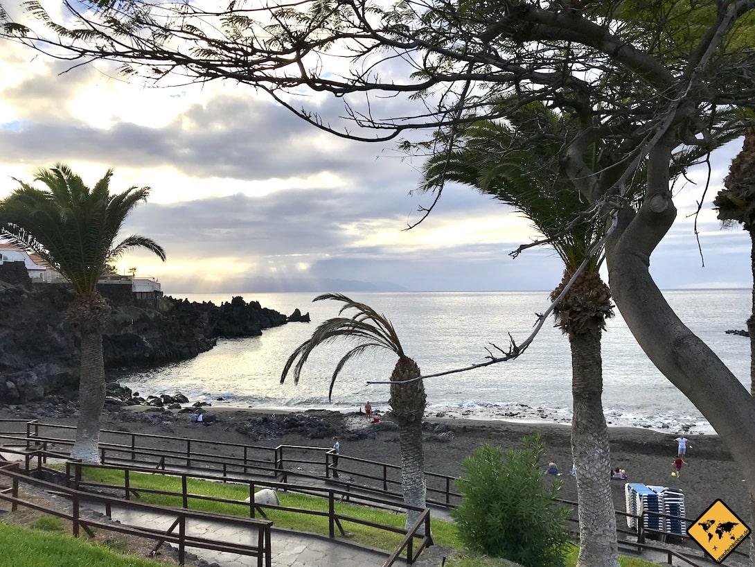 Playa de la Arena Teneriffa barrierefrei