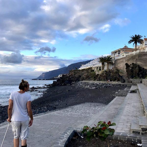 Playa de la Arena Weg Seite